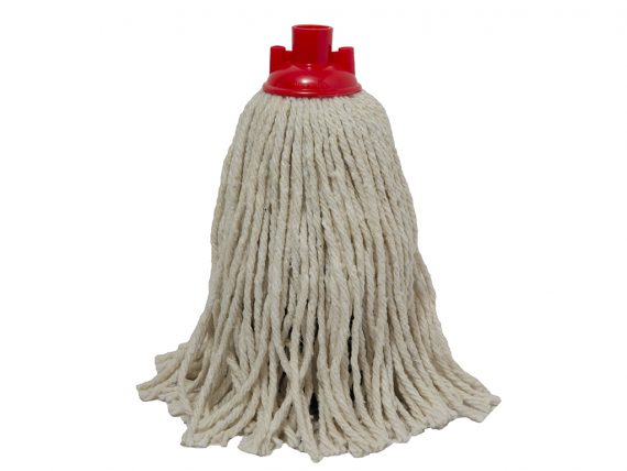 grey cotton mop