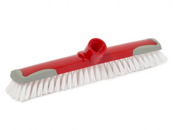star scrubbing brush with rubber