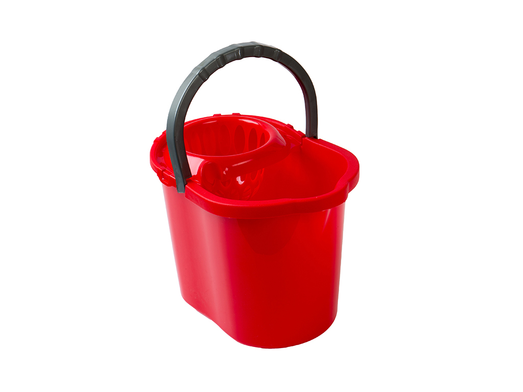 oval bucket 13 Lt. + wringer
