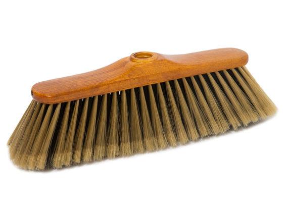 gold broom with outside super soft fibre