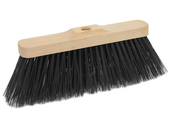wood industrial broom