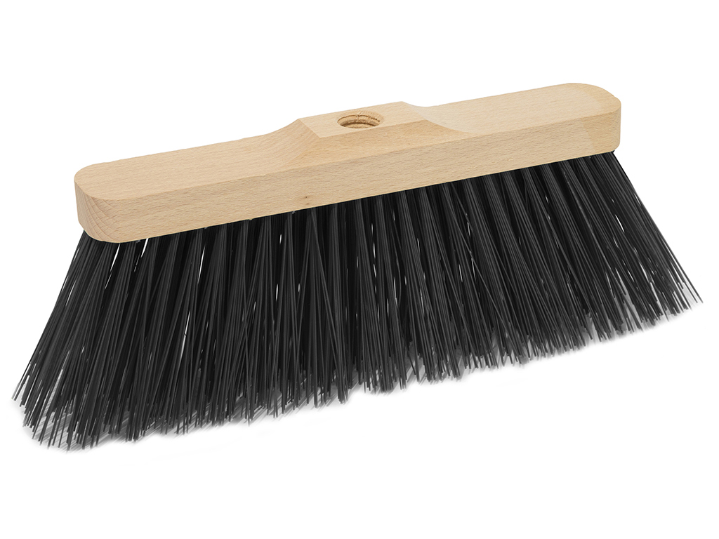 wood industrial broom