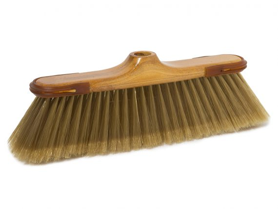 klenia broom gold super soft fibre with rubber
