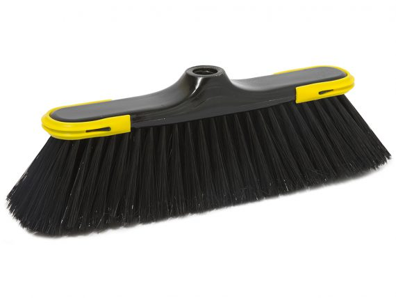 klenia broom outside super soft fibre with rubber