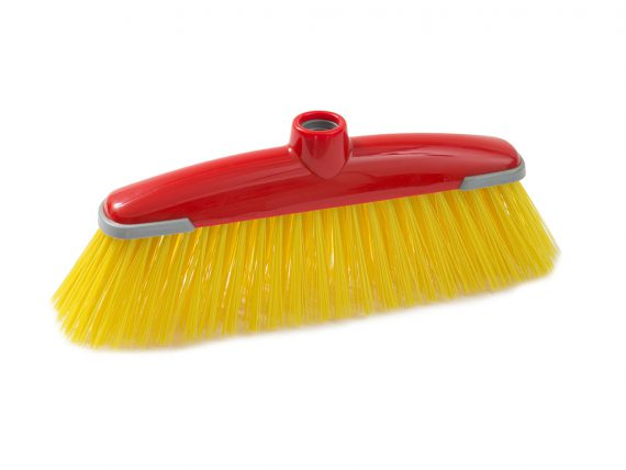 milly industrial broom with rubber
