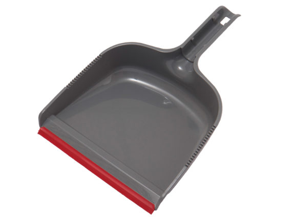 Long Handle Dust Pan Folding Reclinable With Rubber