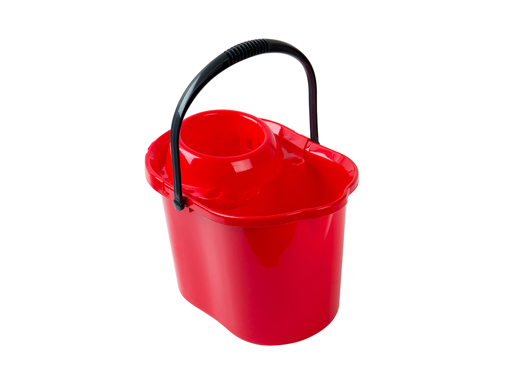 oval bucket 15 Lt. + wringer