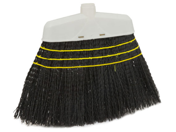 plastic filling industrial broom