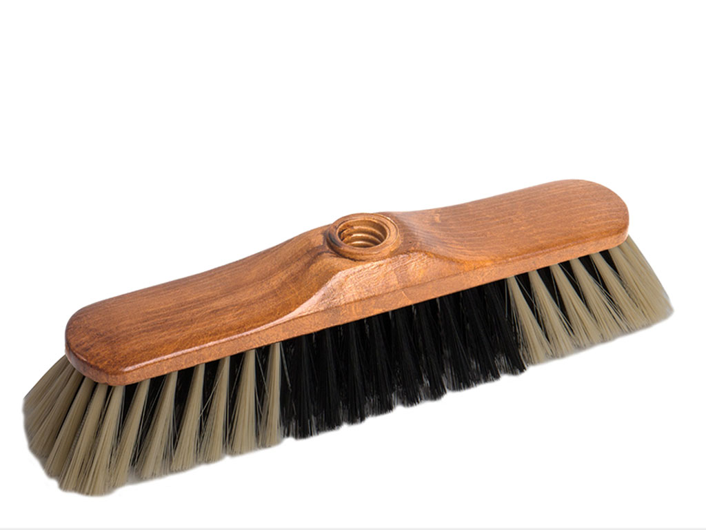 faux horsehair broom