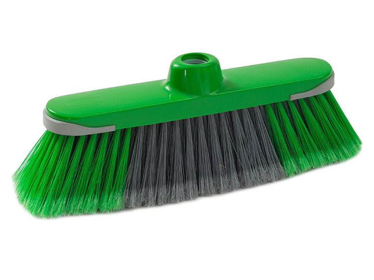 justy broom assorted colours with rubber